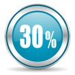 30 percent icon — Stock fotografie