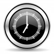 Foto Stock: Time icon