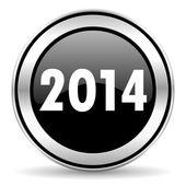 Jaar 2014 pictogram — Stockfoto
