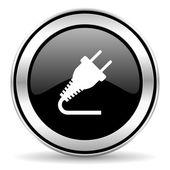 Plug icon — Stock Photo