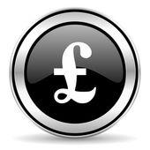 Pound icon — Stock Photo