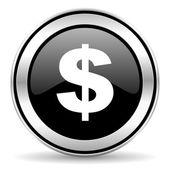 Dollar pictogram — Stockfoto