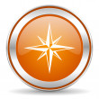 Compass icon — Foto de Stock