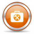 Toolkit icon — Stock Photo