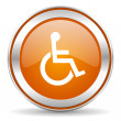 Wheelchair icon — Stock Photo #36385515