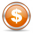 Dollar icon — Foto Stock