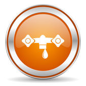 Water pictogram — Stockfoto