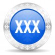 Xxx christmas icon — Stock Photo