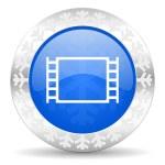 Movie christmas icon — Stock Photo #36662583