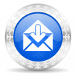 Stock Photo: Mail christmas icon