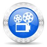 Movie christmas icon — Stock Photo #36663745