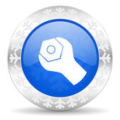 Tools christmas icon — Stock Photo