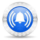 Alarm christmas icon — 图库照片
