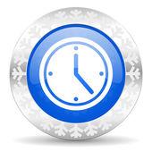 Time christmas icon — Foto Stock