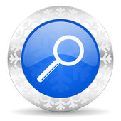 Search christmas icon — Stock Photo