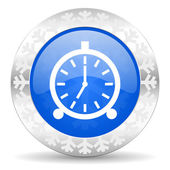 Alarm christmas icon — Foto Stock