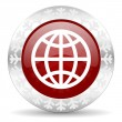 Earth icon — Stockfoto