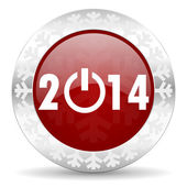 New years 2014 icon — Stock Photo