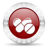 Medicína ikona — Stock fotografie