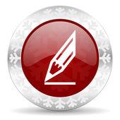 Ikona ołówka — Zdjęcie stockowe