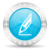 ícone de lápis — Foto Stock