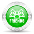 Friends icon — Stock Photo #36999701