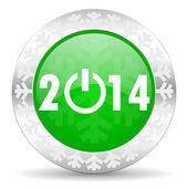 New year 2014 icon — Stock Photo