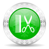 Barber icon — Stock Photo
