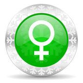 Ikona kobiece — Zdjęcie stockowe