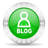 Blog pictogram — Stockfoto