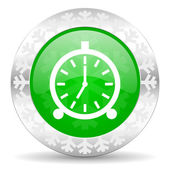 ícone de alarme — Foto Stock