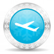 Deparures icon — Stock Photo
