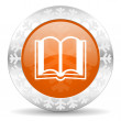Book icon — Stock Photo