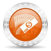 Money icon — Stock Photo