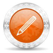 Pencil icon — Stock Photo