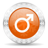 Mannelijke pictogram — Stockfoto
