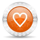 Icono del corazón — Foto de Stock