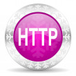 Http christmas icon — Stock Photo