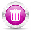 Recycle christmas icon — Stock Photo #37189757
