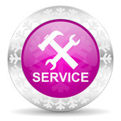Service christmas icon — Stock Photo