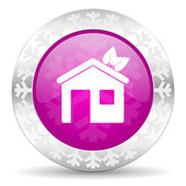 House christmas icon — Stock Photo