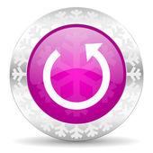 Rotate christmas icon — Foto de Stock