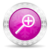 Lente icono de navidad — Foto de Stock