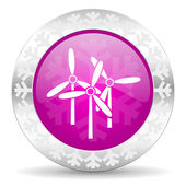 Windmill christmas icon — Foto de Stock