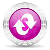 Rotation christmas icon — Stock Photo