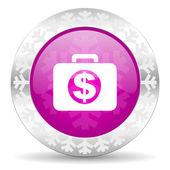 Financial christmas icon — Stock Photo