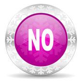 No christmas icon — Stock Photo