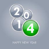 2014 new years illustration — Stock Photo