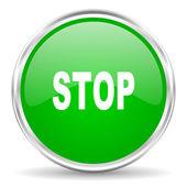Stop icon — Stock Photo