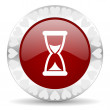Time valentines day icon — Stockfoto